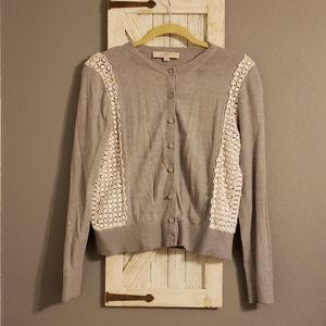 Loft Cardigan Sweater Size M